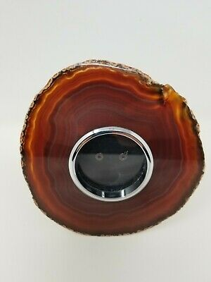 ANNA by RABLABS NY Home Collection Obra Picture Photo Frame Brown Agate