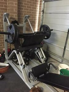 Commercial leg press Gillieston Heights Maitland Area Preview