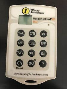 Turning Technologies clicker