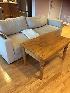 Antique Harvest Barnboard Coffee Table - Farmhouse Table