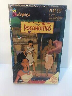 New Sealed Disney's Pocahontas Colorforms Play Set #791