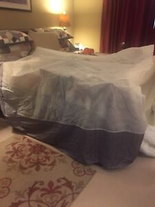 King Size Mattress cover and Bedskirt