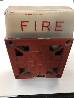 Cerberus Pyrotonics Fire Alarm Signal Model 24v Dc Buzzer Pn Hsd-24