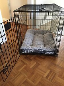 Small dog crate 25 lbs
