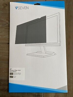 """NEW V7 24"""" Privacy Filter 16:9 PS24.0W9A2 - Screen Protector"""