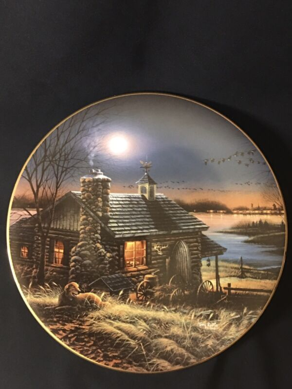"""""""Pure Contentment"""" Terry Redlin Collectors Plate 9 3/8"""""""