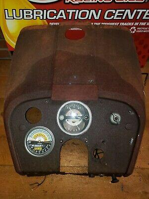 1964 International 504 Gas Utility Tractor Gauge Clusterdashgastank Cover