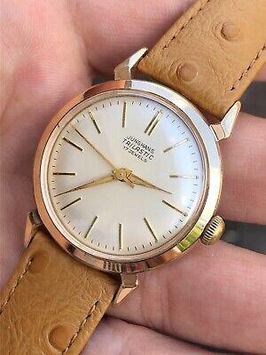 1950s Vintage Junghans Trilastic Mens Watch Cal. 93-1 33,5mm