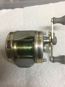 Lightly used Abu Garcia baitcast fishing reel