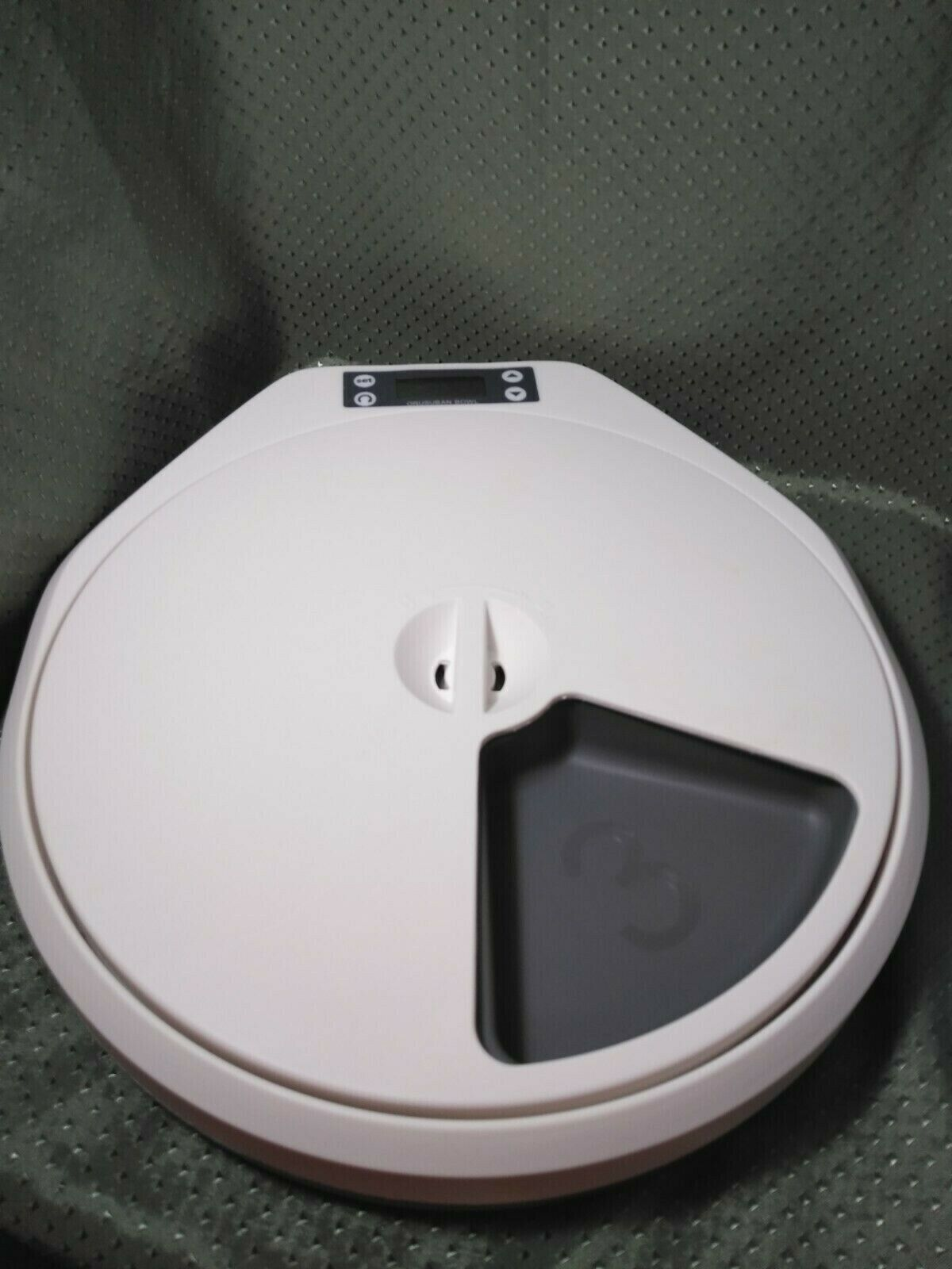 PAWISE 5-Meal Automatic Pet Feeder For Dogs And Cats W/Digital Timer - $18.99