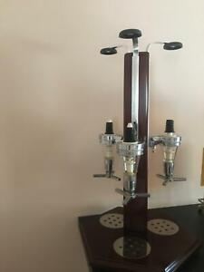 Liquor dispenser and  bar items-used- OR $30 the lot