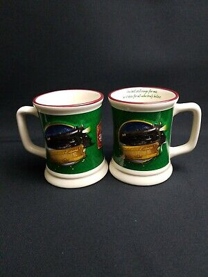 The Polar Express 3D Mug Train Ride Christmas Hot Chocolate Mugs Set of 2