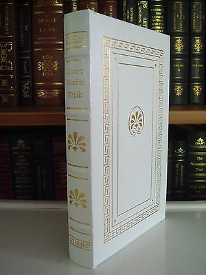 Cicero Murder Trials Gryphon Notable Full Leather Bound