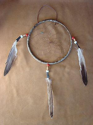"Large Native American Handmade 6"" Dreamcatcher Navajo Indian"