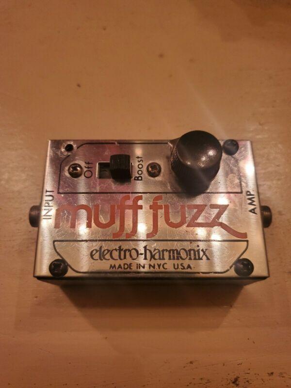 1970s EHX Electro Harmonix Muff Fuzz