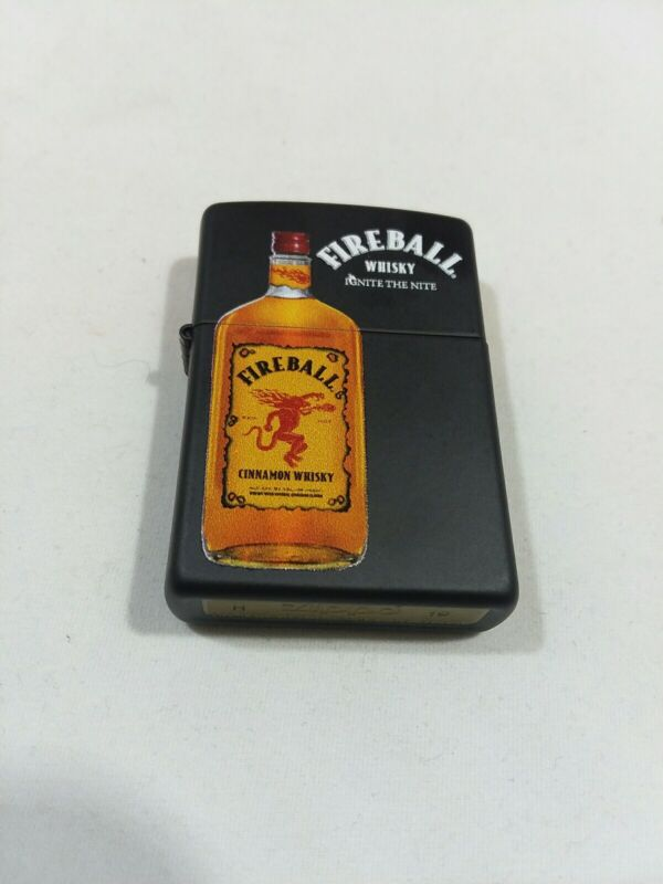 Zippo Fireball Whisky Windproof Lighter - NEW Free Shipping