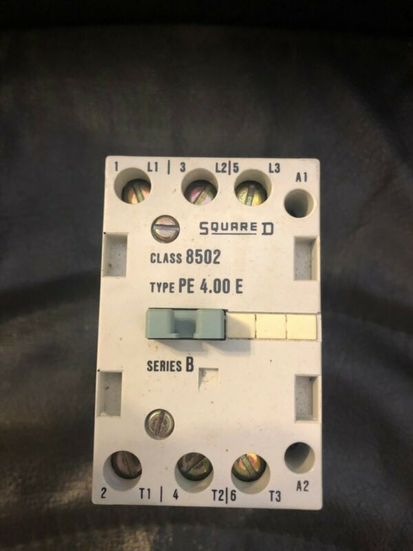 Square D Contactor 8502, Type PE 4.00E; USED