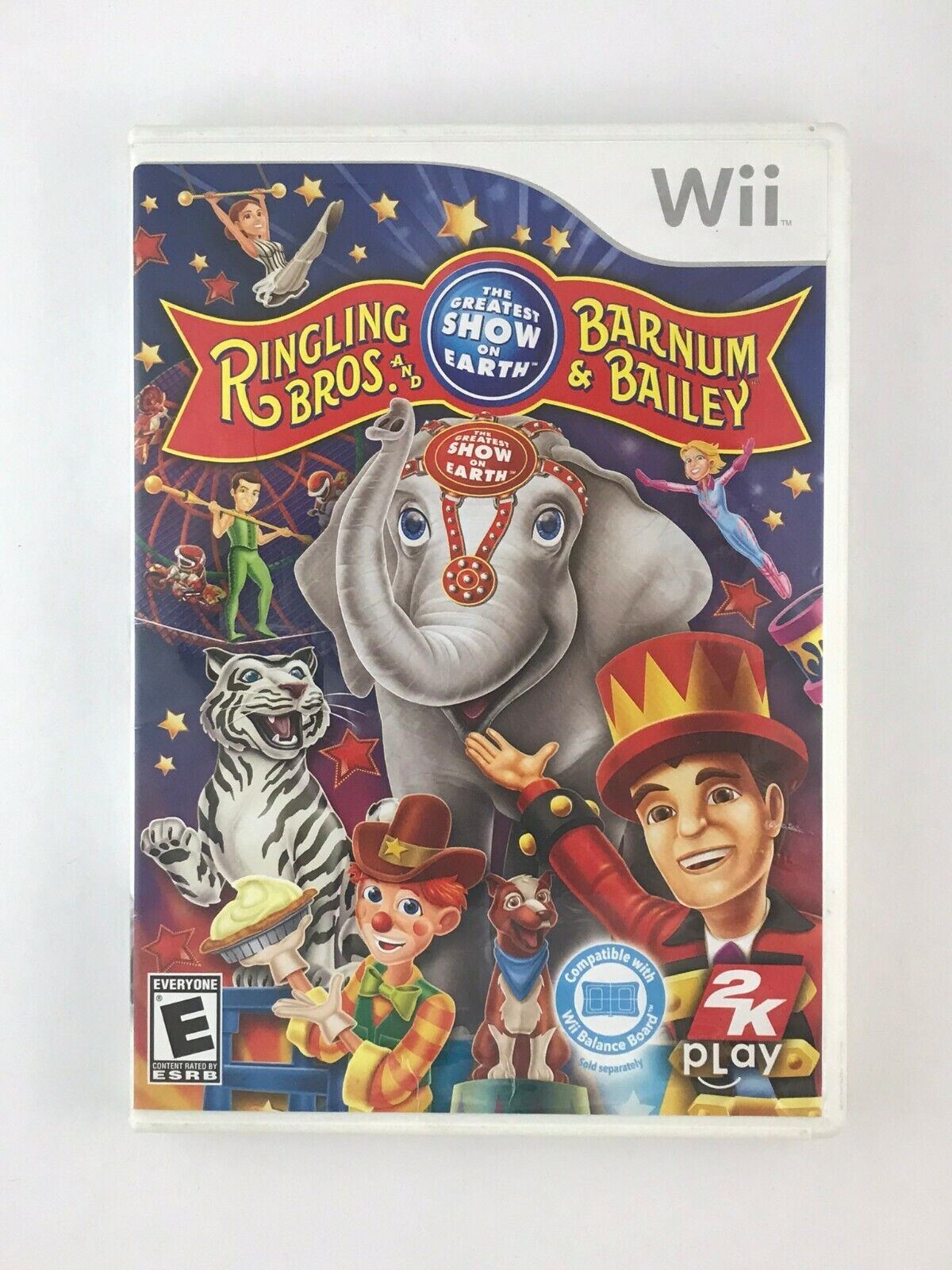 Ringling Bros. and Barnum & Bailey Circus - Nintendo Wii Game - Complete Tested