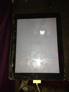 iPad 2 broken screen
