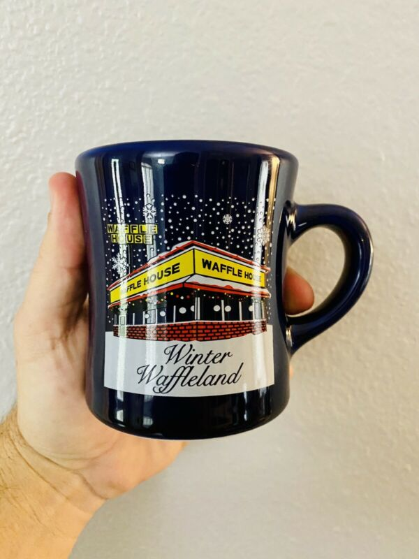 1 Waffle House Coffee Mug Cup 2015 Winter Waffleland Tuxton Christmas Restuarant
