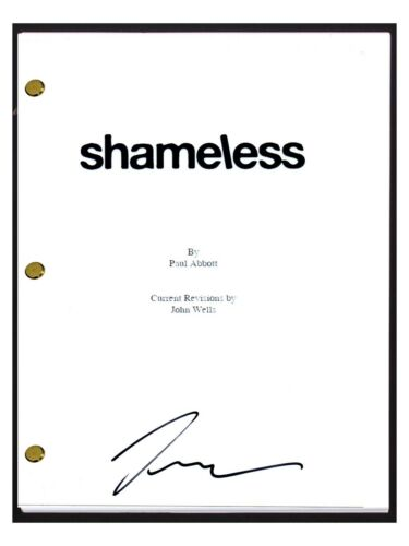Jeremy Allen White Signed Autographed SHAMELESS Pilot Episode Script COA