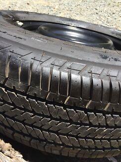 255/70r16 Bridgestone dueler h/t