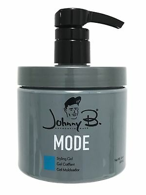 Johnny B Mode Styling Gel 16 oz, New Packaging, Fast Shippin