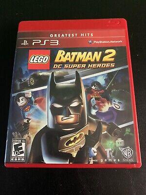 LEGO Batman 2: DC Super Heroes (Sony PlayStation 3, 2012) Complete ps3