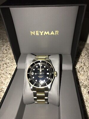 NEYMAR Two Tone Automatic 300m Stainless Steel Diver Watch