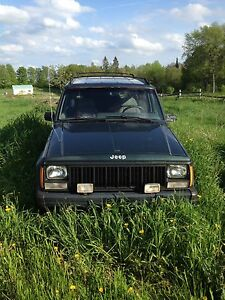 Jeep Cherokee Xj part out!!!