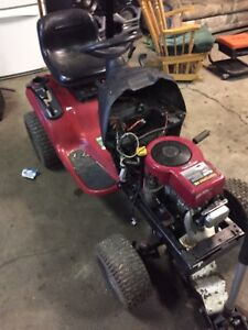 Parts riding mower