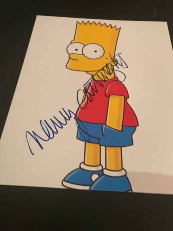 NANCY CARTWRIGHT SIGNED AUTOGRAPH 8x10 PHOTO BART SIMPSON THE SIMPSONS COA AUTO