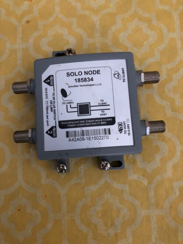 New Selling As Used Dish Network Hopper Joey Solo Node 185834