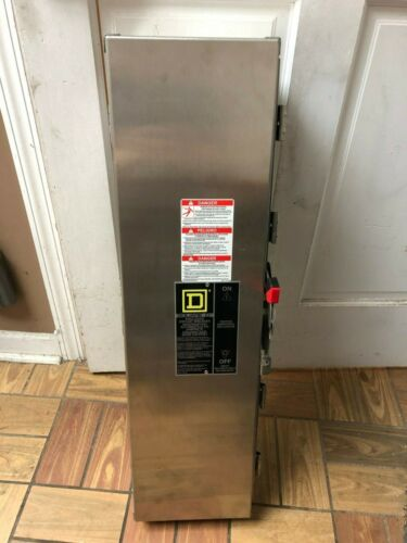 Square D By Schneider Electric J250DS Stainless Steel Circuit Breaker Enclosure