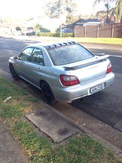 Subaru impreza GX 2001 Cranebrook Penrith Area Preview