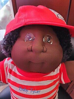 Xavier Roberts Soft Sculpture Cabbage Patch Kid Original 1988 Baby Tyler Nursery