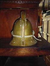 Fireman Helmet 1890's Brass 364672 Lane Cove Lane Cove Area Preview