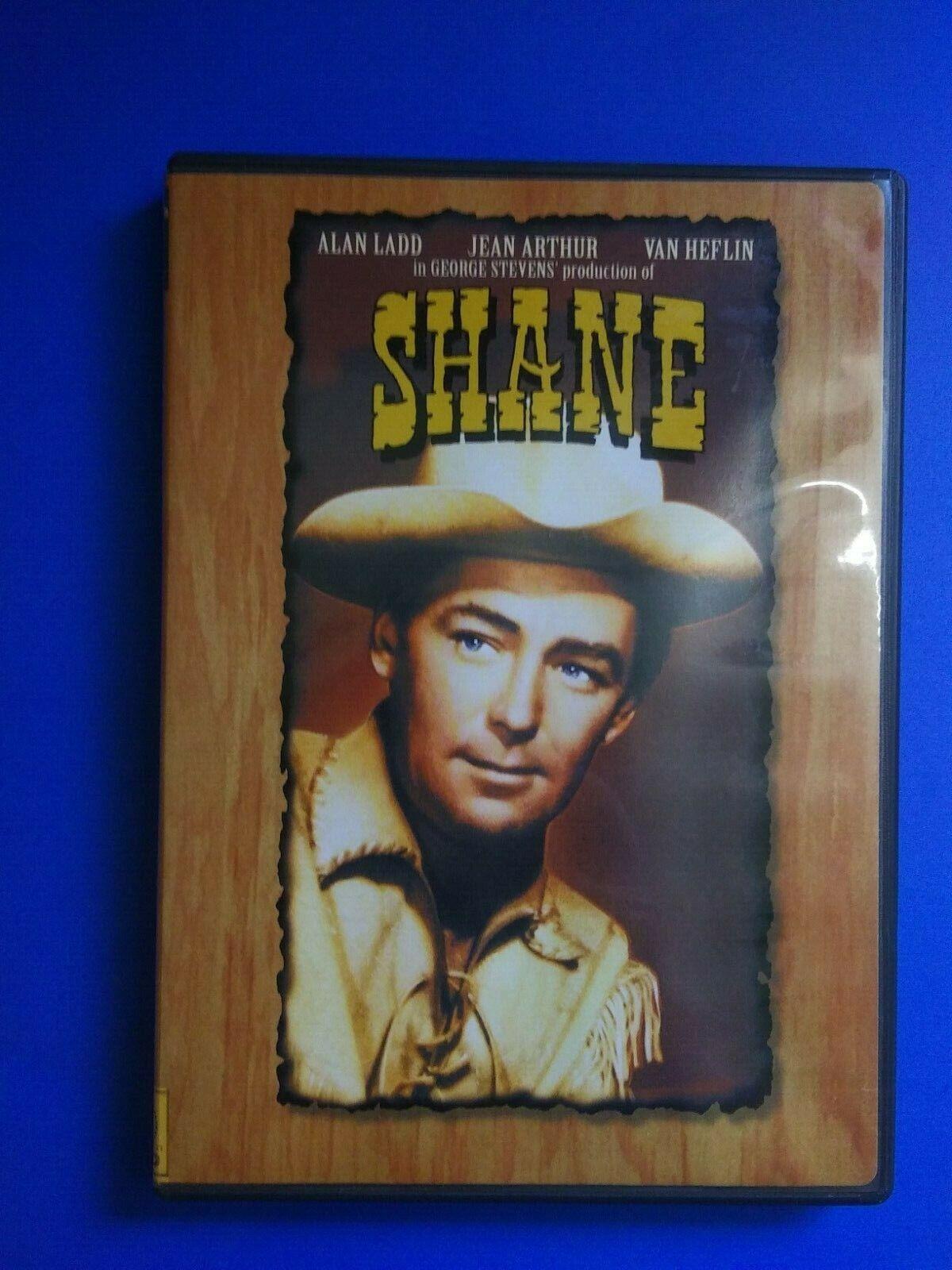 SHANE DVD Movie - $4.00