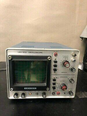 Leader Lbo-502 Oscilloscope