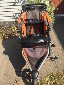 BOB stroller (single) with accessories