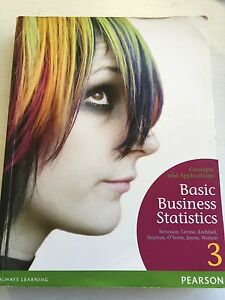 Basic Business Statistics Concepts and Applications. Maribyrnong Maribyrnong Area Preview