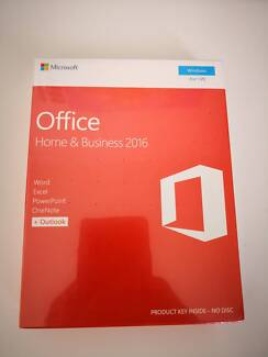 MS Office 2016 Home & Business 2016 for Windows