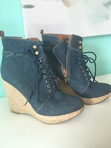 Denim MICHAEL KORS boots