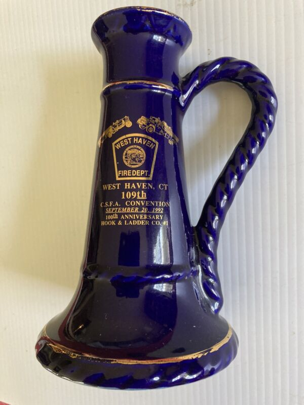 September 20, 1992 CSFA Fire Dept. 109th Convention West Haven, CT Stein Mug