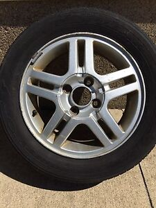 Goodyear Viva Authority Tires with Rims