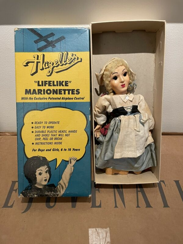 Vintage Antique Hazelle's Lifelike Marionettes 908 Katrina Dutch Girl Doll