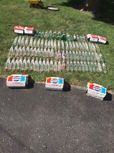 Soda bottle lot