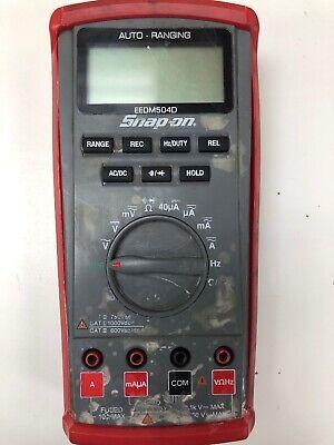 Snap On Meter Eedm504d 30 Warranty