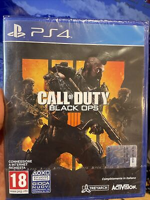 CALL OF DUTY BLACK OPS 4 PS4 ITALIANO PLAYSTATION 4 NUOVO DI...