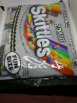 Skittles Fun Size, Rotton Zombie Halloween  Bags, Sweet